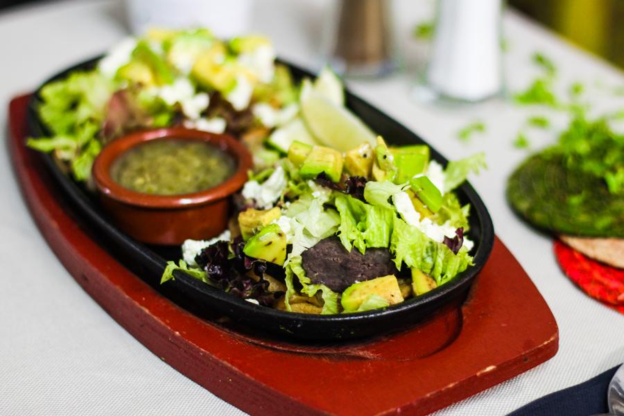 Kua Mexican Kitchen.Menucard Kua Mexican Kitchen